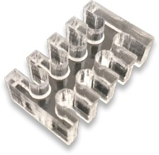 8pin Acrylic Cable Holder