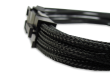 Black Braided 6+2-pin PCIe Extension Cable