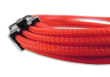 B-Grade Red Braided 6+2-pin PCIe Extension Cable
