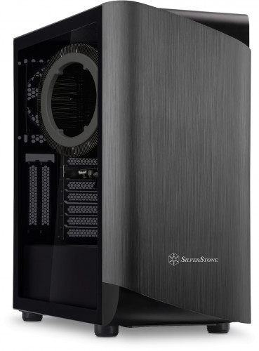 Quiet PC A1090i Fanless built inside the Silverstone SETA Titanium
