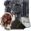 Quiet PC AMD CPU and micro-ATX Motherboard Bundle